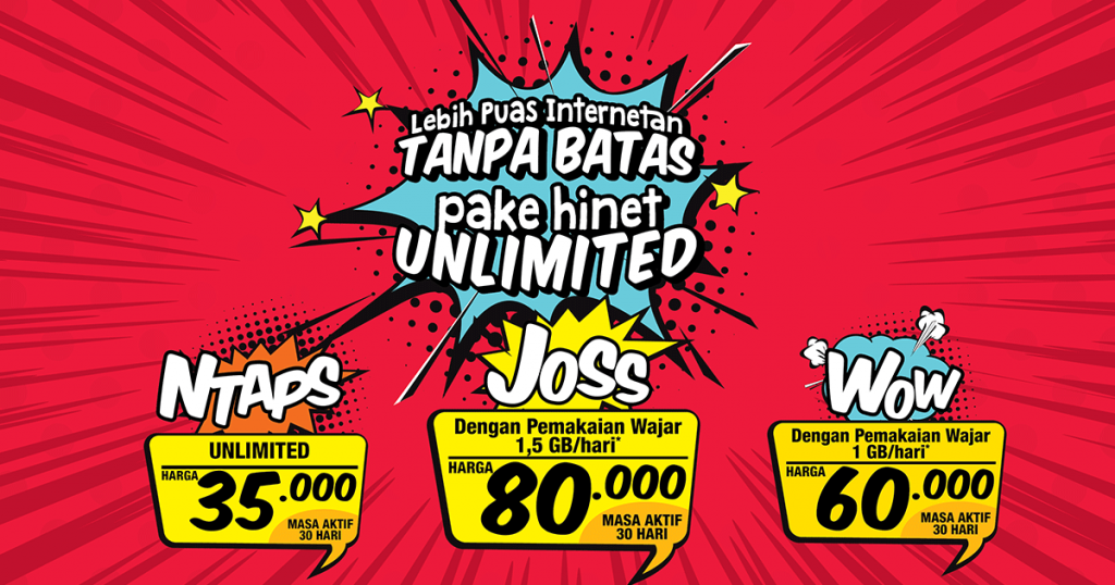 Paket Unlimited Hinet