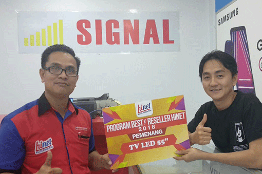 Pemenang Best Seller Pekanbaru 2018 hadiah TV LED