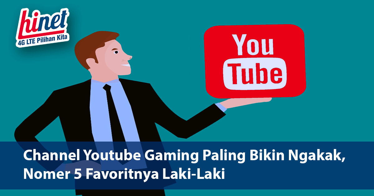 Channel Youtube Gaming Paling Bikin Ngakak, Nomer 5 Favoritnya Laki-Laki