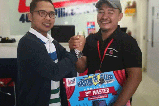 Pemenang Master of sales 2019