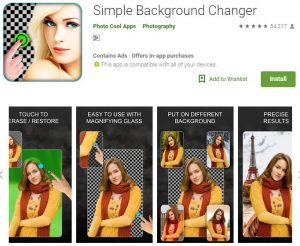 Ganti Background Untuk Mendapatkan Foto Kece GRATIS - Simple Background Changer
