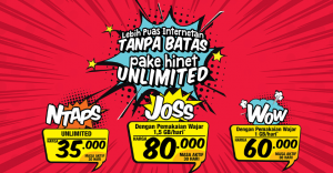Kuota Internet Lokal - paket unlimited