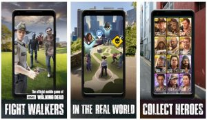 Game 'Augmented Reality' Android, Serasa Masuk Dunia Film! - The Walking Dead: Our World